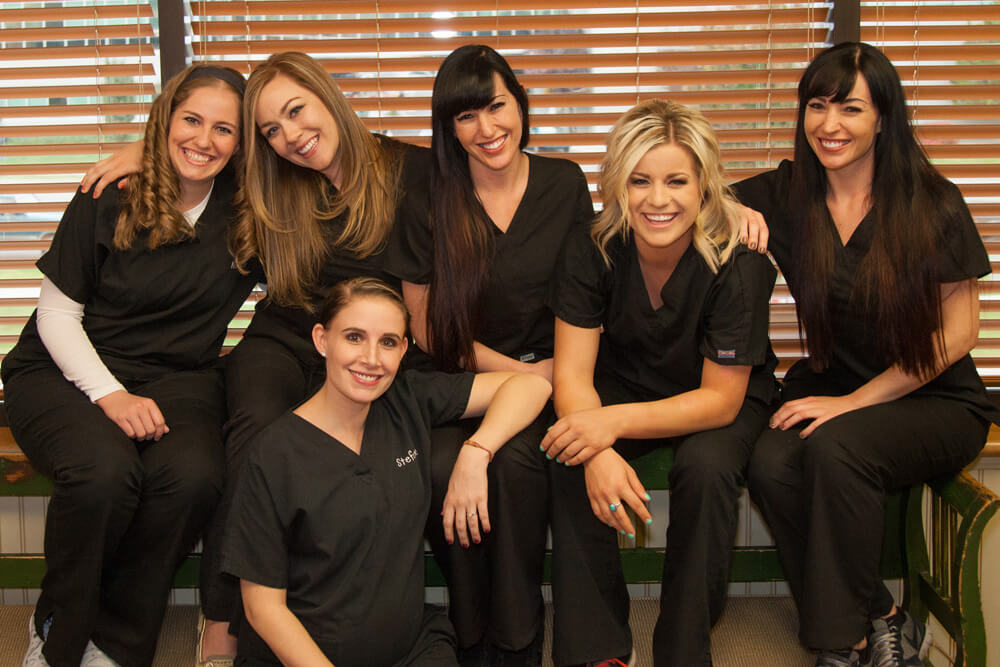Kids dental office staff in Salt Lake City